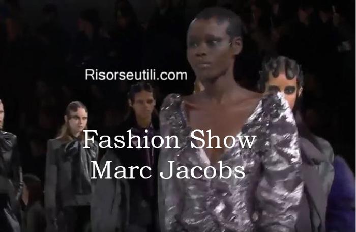 Fashion show Marc Jacobs fall winter 2016 2017 womenswear