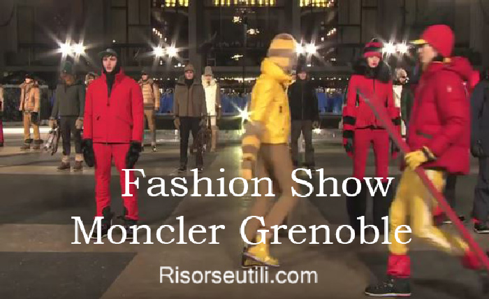 Fashion show Moncler Grenoble fall winter 2016 2017