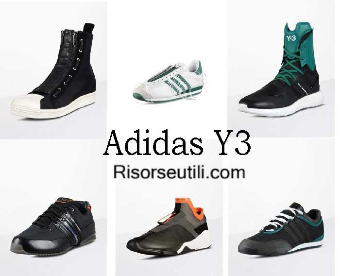 Adidas Y3 fall winter 2016 2017 shoes menswear