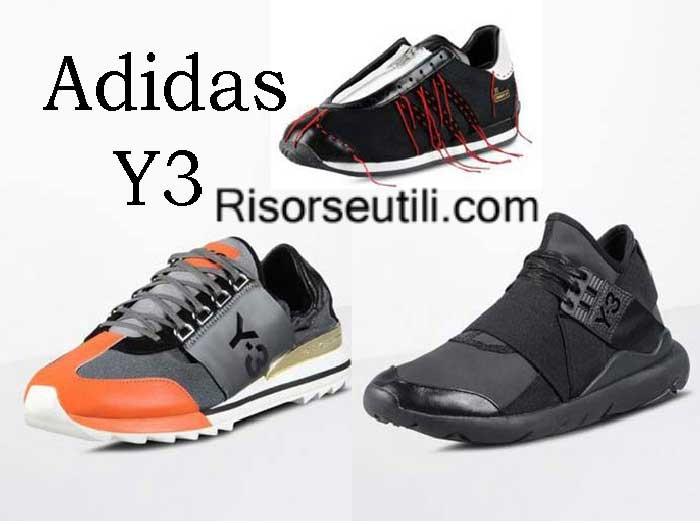 Adidas Y3 fall winter 2016 2017 womenswear shoes