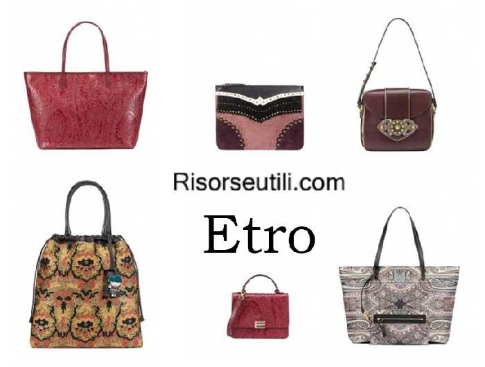 Bags Etro fall winter 2016 2017 womenswear handbags