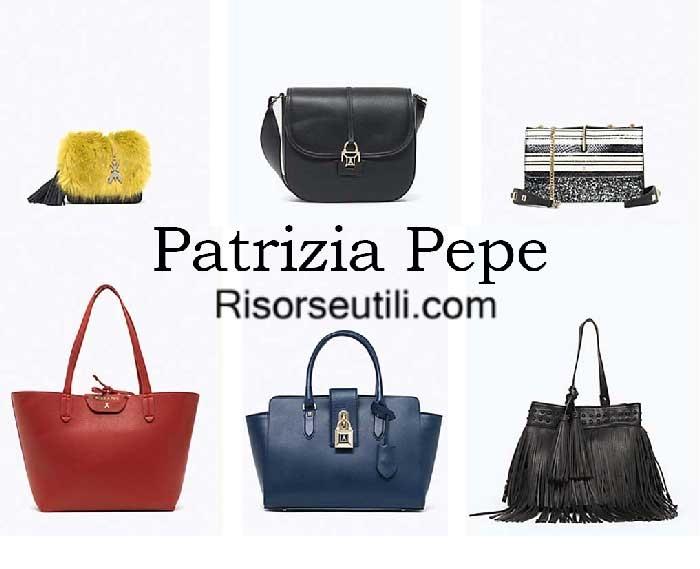 Bags Patrizia Pepe fall winter 2016 2017 womenswear handbags