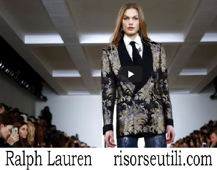 Fashion Show Ralph Lauren Fall Winter 2016 2017 Womenswear