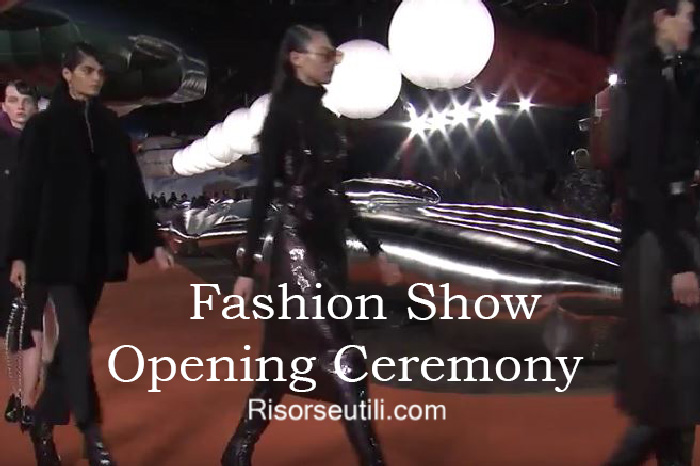 Fashion show Opening Ceremony fall winter 2016 2017 womenswear