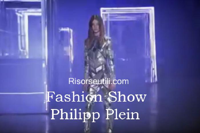 Fashion show Philipp Plein fall winter 2016 2017 womenswear