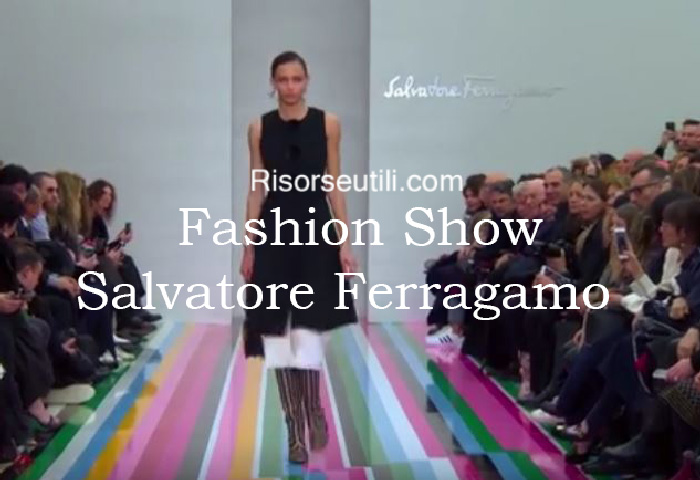Fashion show Salvatore Ferragamo fall winter 2016 2017 womenswear