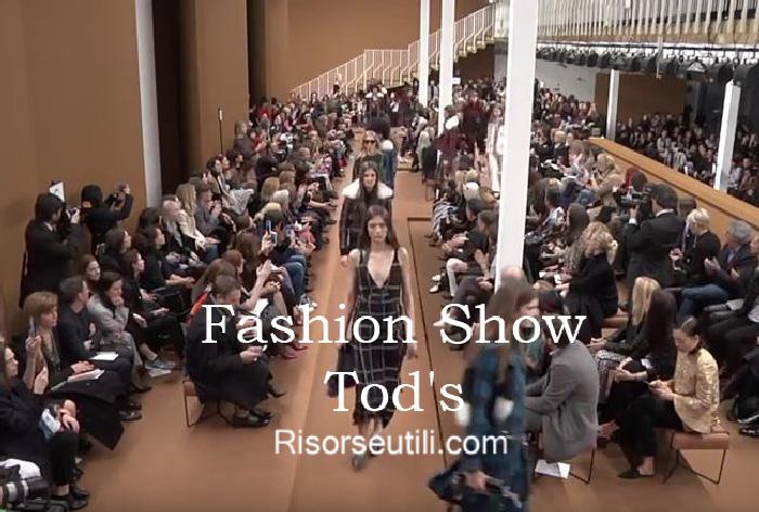 Fashion show Tods fall winter 2016 2017 womenswear