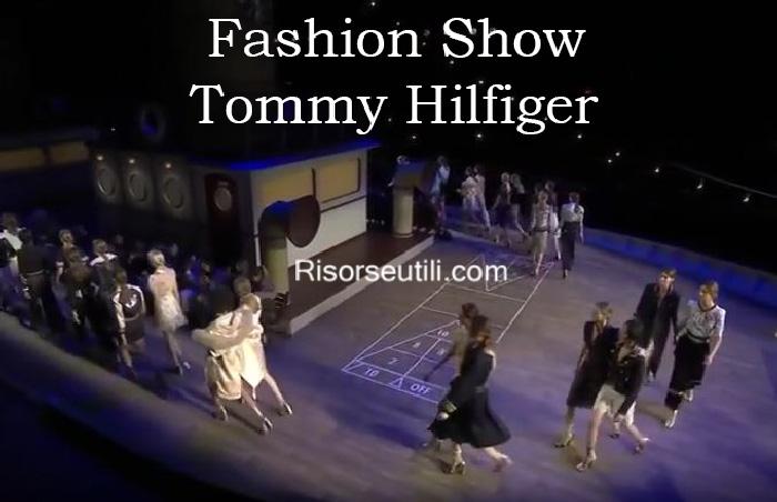 Fashion show Tommy Hilfiger fall winter 2016 2017 womenswear