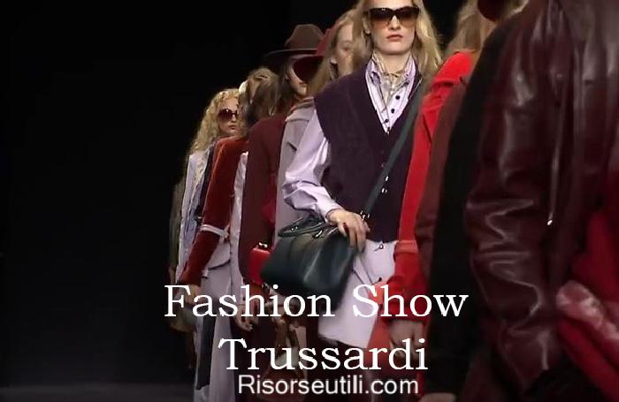 Fashion show Trussardi fall winter 2016 2017 womenswear