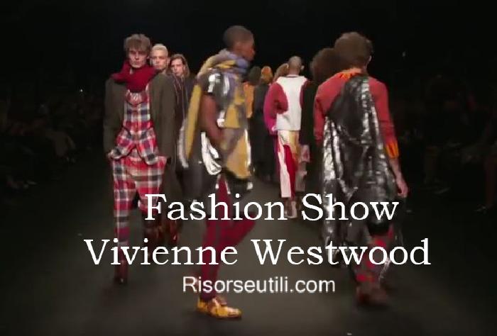 Fashion show Vivienne Westwood fall winter 2016 2017 menswear