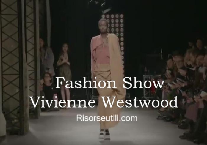 Fashion show Vivienne Westwood fall winter 2016 2017 womenswear