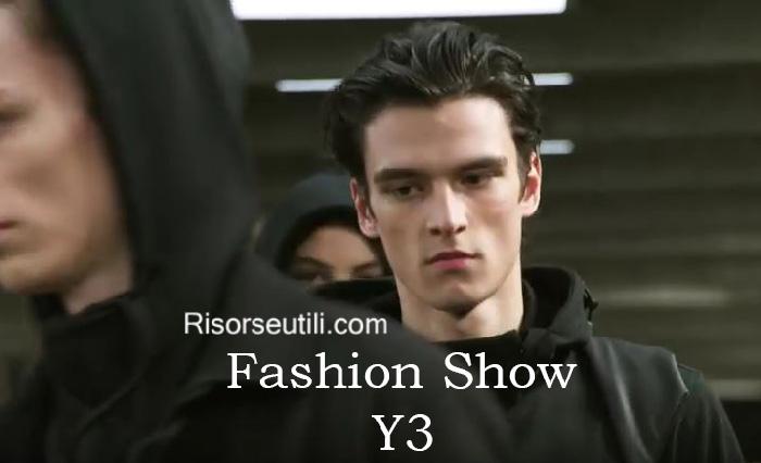 Fashion show Y3 fall winter 2016 2017