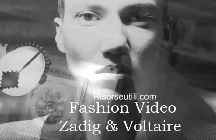 Fashion video Zadig Voltaire fall winter 2016 2017