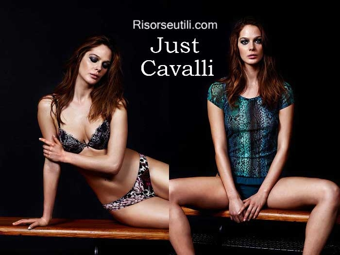 Lingerie Just Cavalli fall winter 2016 2017 underwear