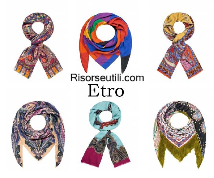 Scarves Etro fall winter 2016 2017 womenswear shawl