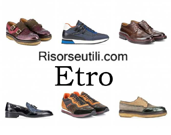 Shoes Etro fall winter 2016 2017 menswear footwear