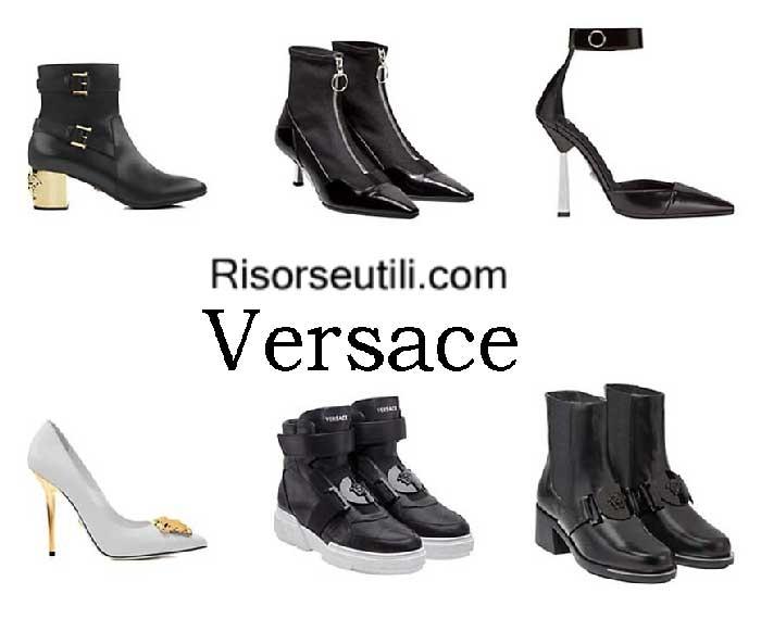 Shoes Versace fall winter 2016 2017 womenswear footwear