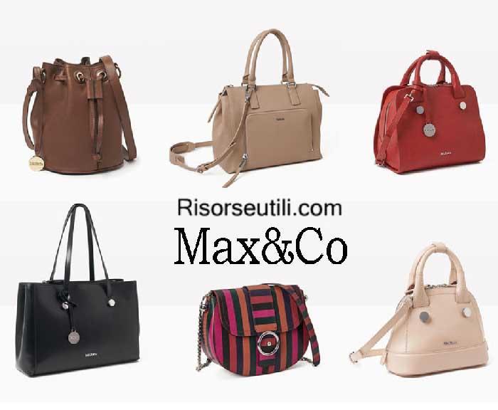 Bags MaxCo fall winter 2016 2017 for women