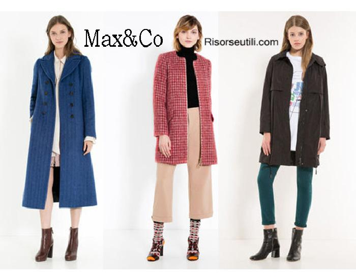 Coats MaxCo fall winter 2016 2017 womenswear