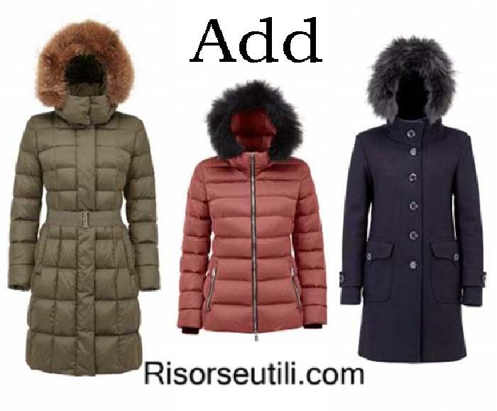 Down jackets Add fall winter 2016 2017 womenswear