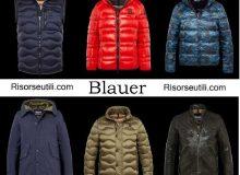 Down jackets Blauer fall winter 2016 2017 menswear