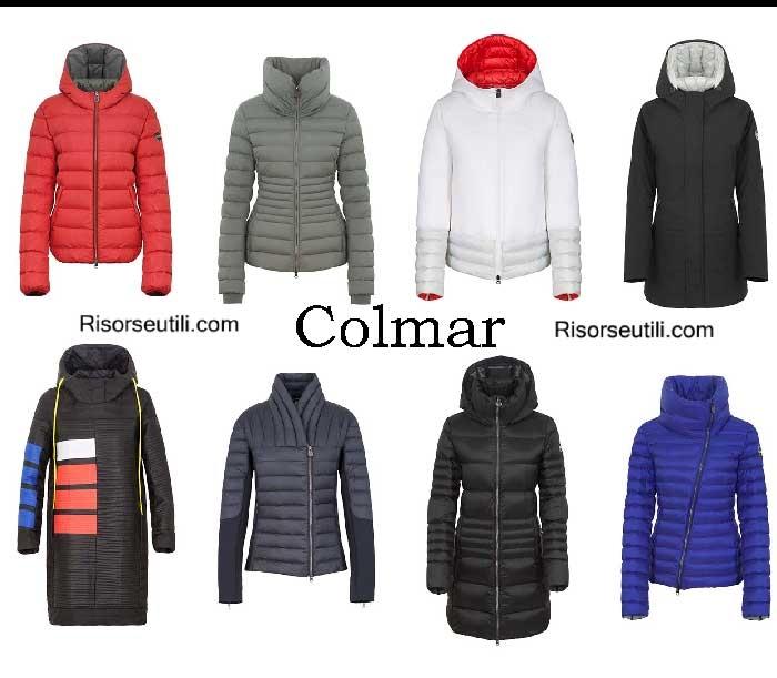 Down jackets Colmar fall winter 2016 2017 for women