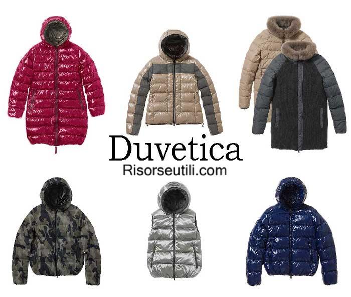 Down jackets Duvetica fall winter 2016 2017 for women