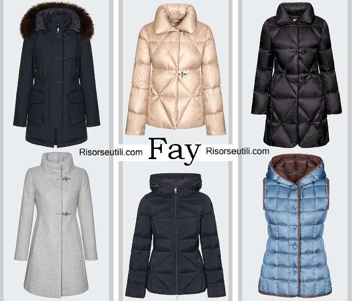 Down jackets Fay fall winter 2016 2017 womenswear