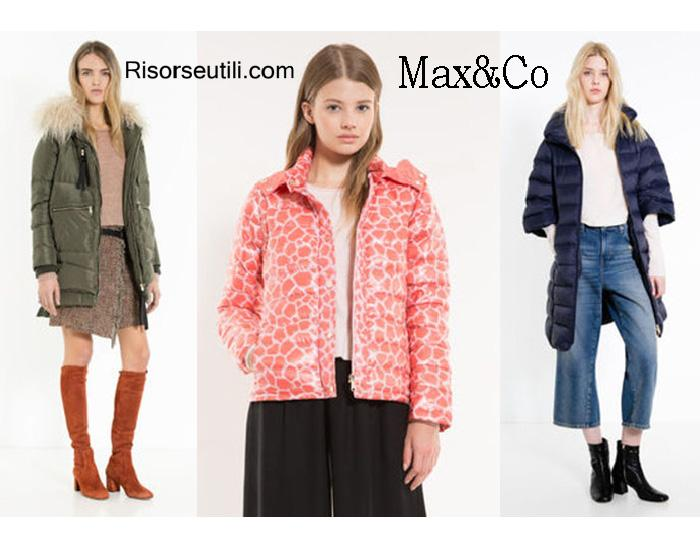 Down jackets MaxCo fall winter 2016 2017 women