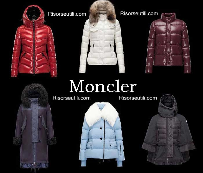 Down jackets Moncler fall winter 2016 2017 for women