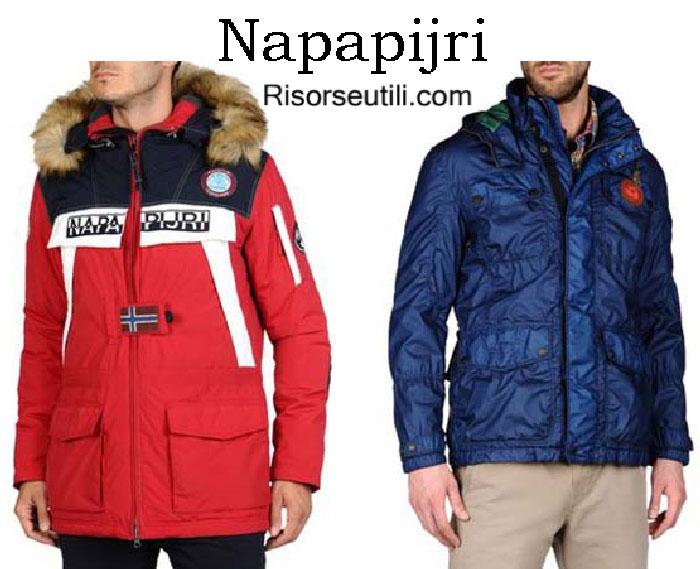Down jackets Napapijri fall winter 2016 2017 for men