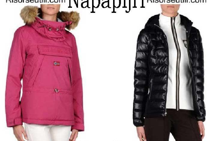 Down jackets Napapijri fall winter 2016 2017 women