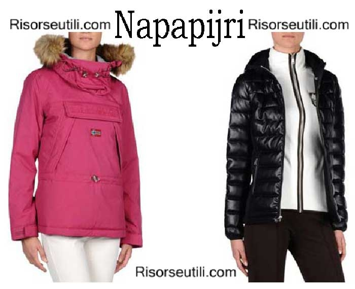 Down jackets Napapijri fall winter 2016 2017 women