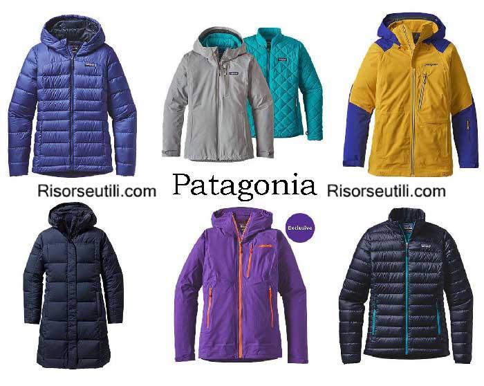 Down jackets Patagonia fall winter 2016 2017 for women