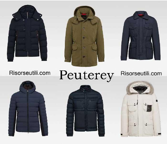 Down jackets Peuterey fall winter 2016 2017 for men