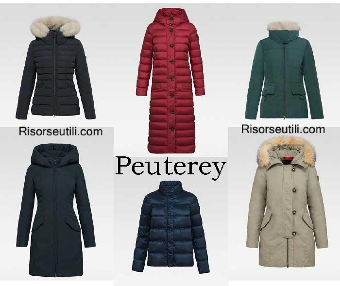 Down jackets Peuterey fall winter 2016 2017 for women