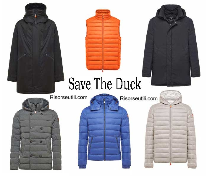 Down jackets Save The Duck winter 2016 2017 men