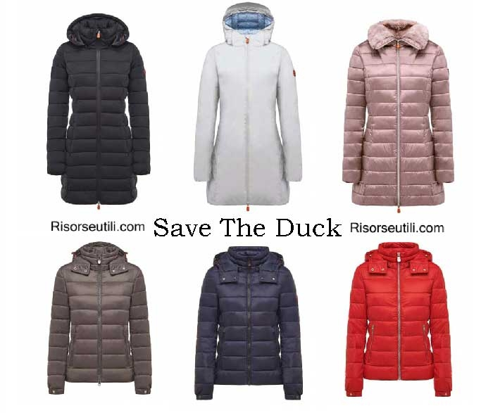 Down jackets Save The Duck winter 2016 2017 women