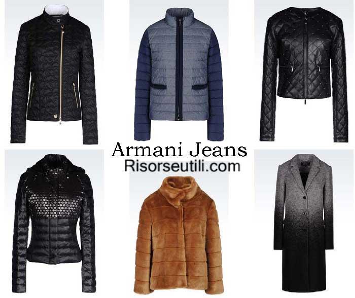 Jackets Armani Jeans fall winter 2016 2017 for women
