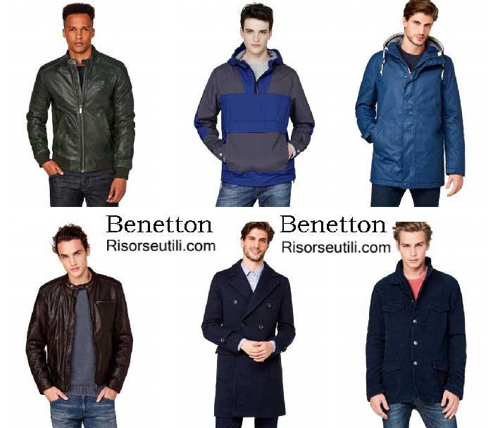 Jackets Benetton fall winter 2016 2017 menswear