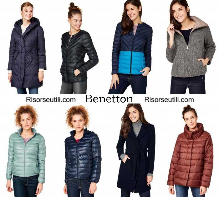 jackets benetton fall winter 2016 2017 womenswear
