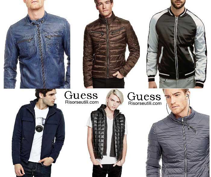Jackets Guess fall winter 2016 2017 menswear