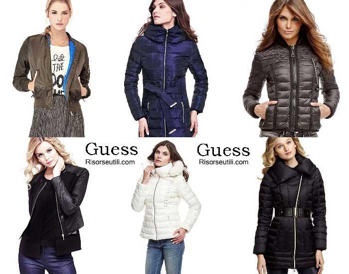 Jackets Guess fall winter 2016 2017 womenswear
