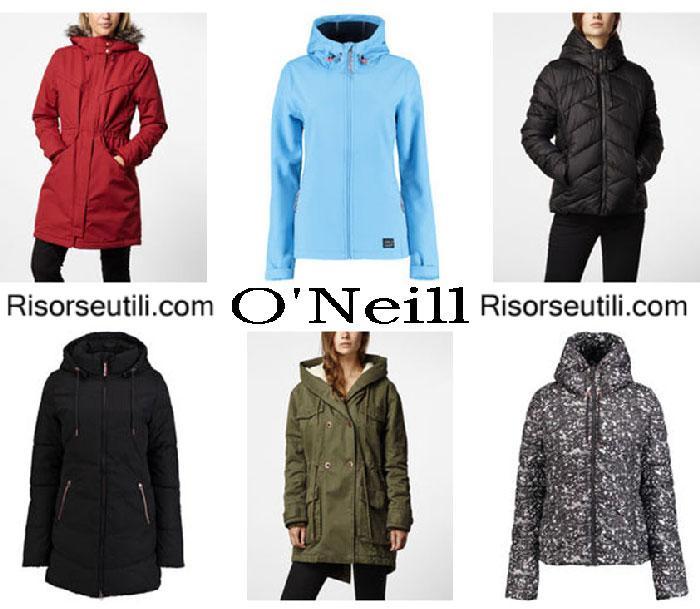 Jackets ONeill fall winter 2016 2017 womenswear