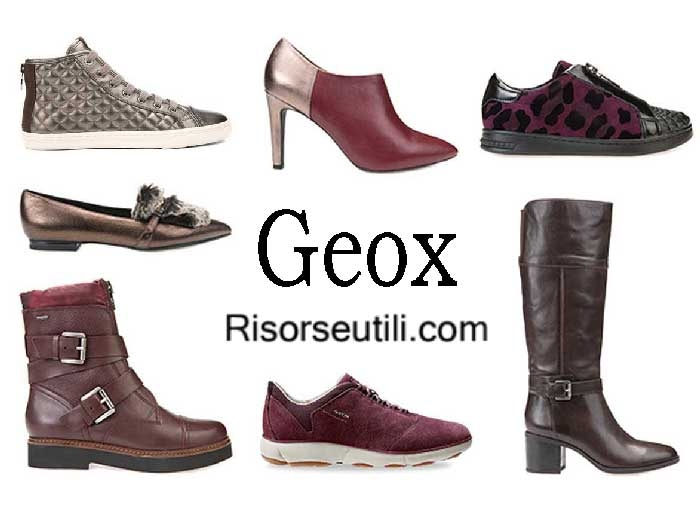 Shoes Geox fall winter 2016 2017 for women