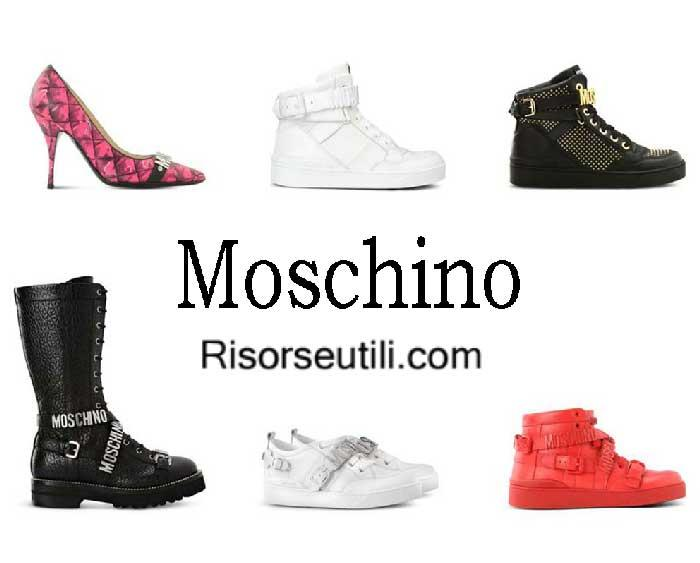 Shoes Moschino fall winter 2016 2017 for women