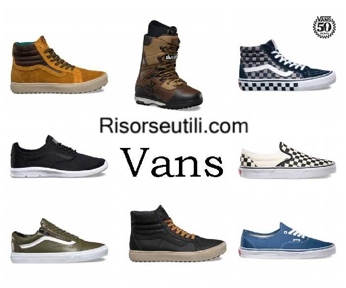 Sneakers Vans fall winter 2016 2017 menswear shoes