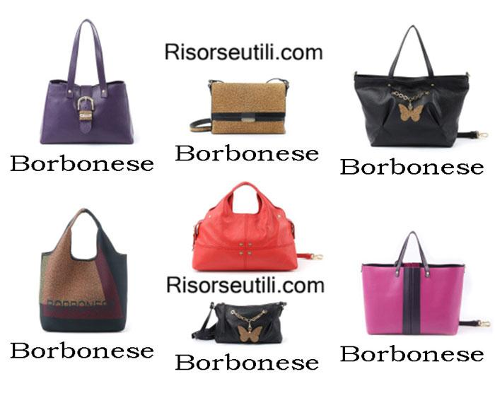 Bags Borbonese fall winter 2016 2017 for women