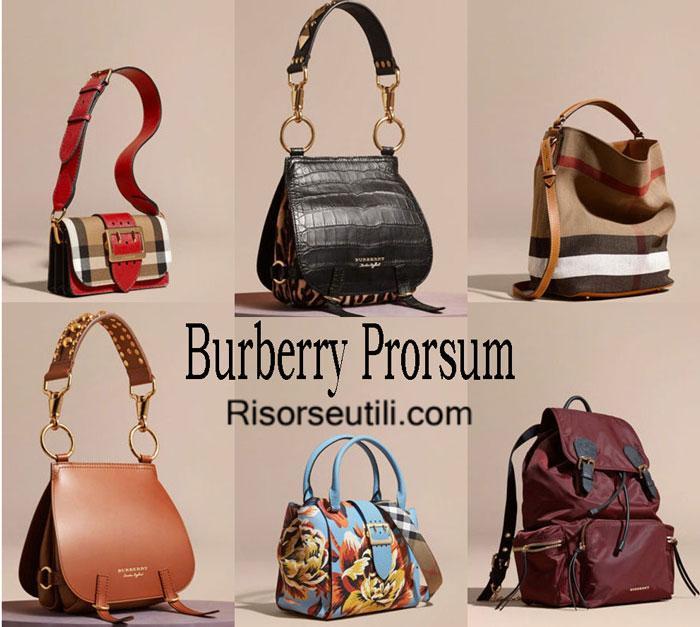 Bags Burberry Prorsum fall winter 2016 2017 for women