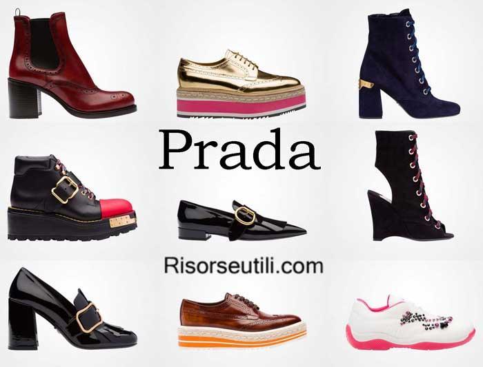 Shoes Prada fall winter 2016 2017 fashion for women